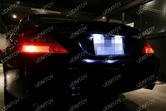 Mercedes - Benz - CLS - license - plate - lights - 2